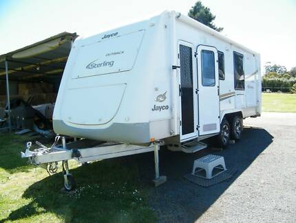 Caravan - Jayco Sterling Outback 21.65-4 Youngtown Launceston Area Preview