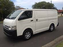 Toyota Hiace LWB 2008 Manual, A/C, P/S, Clean Van!! Lidcombe Auburn Area Preview