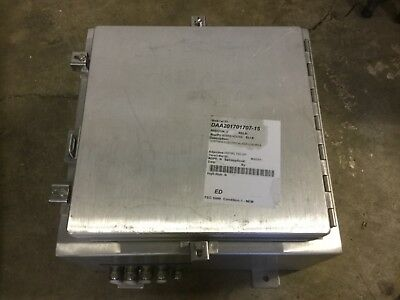 Hoffman Electrical Enclosure A16h1608allp With Contents