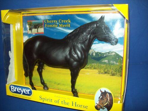 Breyer 1758 Traditional 1:9 Canadian Spirit of Horse CHERRY CREEK FONZIE MERIT