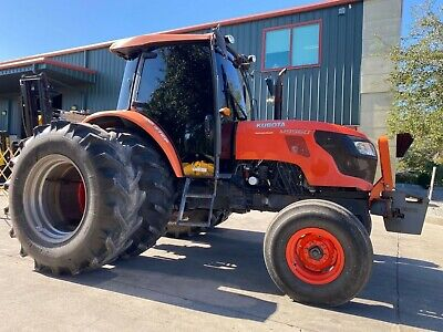 2012 Kubota M9960 Diesel Tractor Dual Rear Wheels Enclosed Cab Heat Ac
