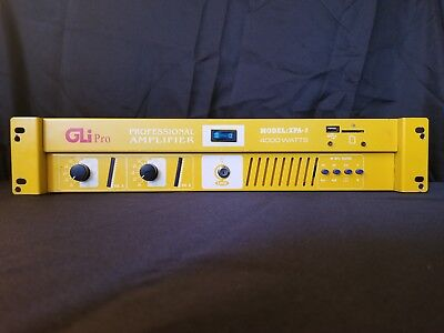 Gli Stereo Amplifier - GLI Pro (XPA-7) Stereo Power Amplifier