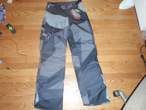 BOYS UNDER ARMOUR STORM SIZE YL PRIMALOFT INSULATED SKI SNOW PANTS NWT STORM