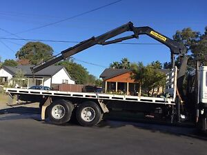 Truck crane with brand new 10 Tyers just fitted Mount Druitt Blacktown Area Preview