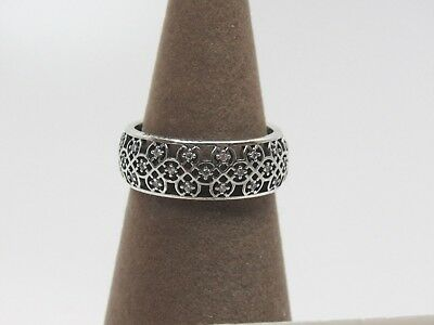 New w/  Box Pandora Intricate Lattice CZ Ring 190955CZ Sizes Available