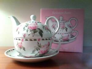 NEW - REDOUTE ROSE TEA FOR ONE - BOXED Hackham West Morphett Vale Area Preview