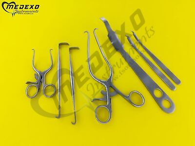 Orthopedic Knee Surgery 7 Pieces Set Surgical Orthopedic Instruments