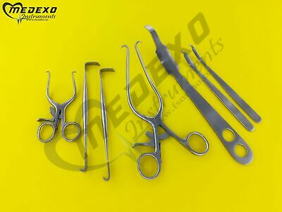 Orthopedic Knee Surgery 7 Pieces Set Surgical Orthopedic Instruments