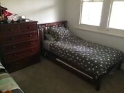 king single beds x 2 plus 1 x tall boy and 1 x bed side table Yarraville Maribyrnong Area Preview