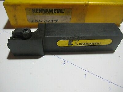 Kennametal Top Notch Ctcpr-163c Nk7 Lathe Carbide Insert Tool Holder 1 Shaft