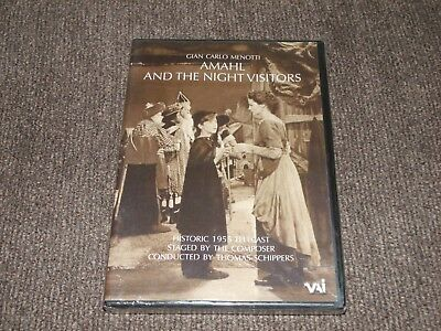 NEW SEALED - Amahl and the Night Visitors - Gian Carlo Menotti Opera -