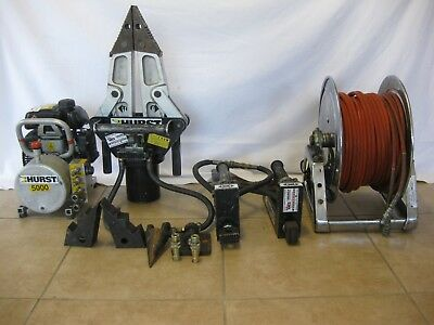Hurst Jaws Of Life Rescue System Power Jaws Rams Hoses