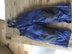Boys snow pants 24-30 months pantaloons de beige garcons