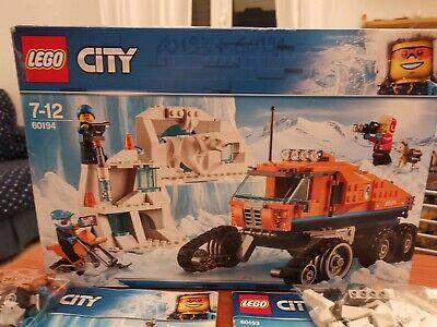 Lego City-Artic- 60194+60193- Usato- Istruzioni originali