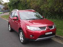 2007 Mitsubishi Outlander Wagon Surry Hills Inner Sydney Preview