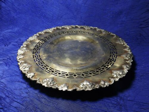 Siver Plate EPNS 1702 Footed