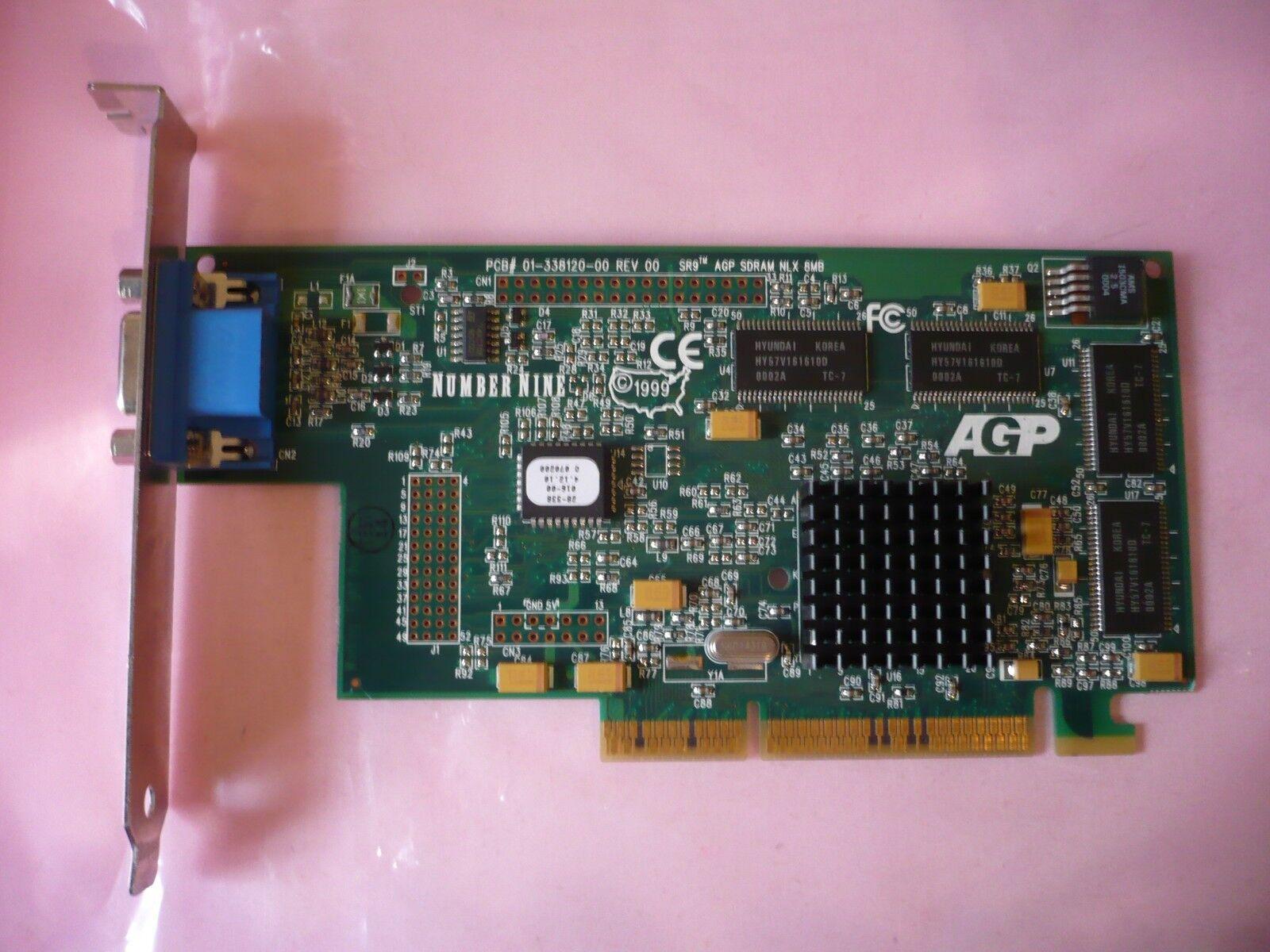 IBM 01-338120-00 8Mb AGP Video Card