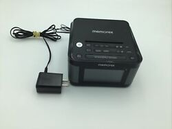 Memorex USB Charging Alarm Clock Radio 1.2'' LCD Display w/ Dimmer And AUX In