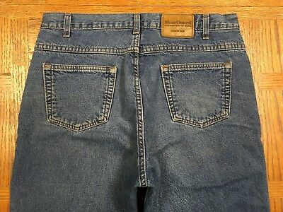WEAR GUARD FLANNEL LINED MENS USA JEANS STYLE 2240 SIZE 34x30 Tag 34x30 BEST
