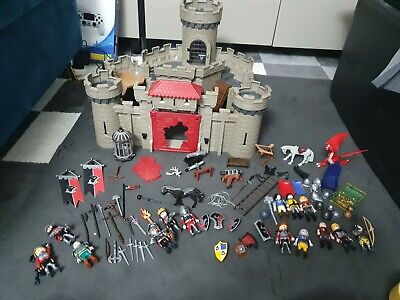 Playmobil Hawk Knights Castle 6001 with Dragon + Loads Of Extras. Bundle