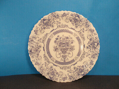 "Arcopal Dinnerware Honorine Pattern Dinner Plate 10 3/4"""