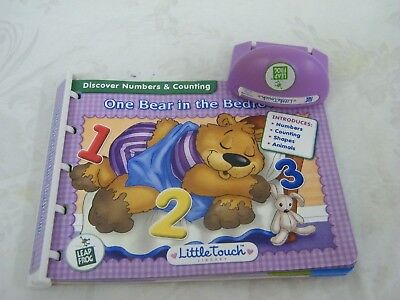 """Leapfrog Little Touch Library """"One Bear in the Bedroom"""""""