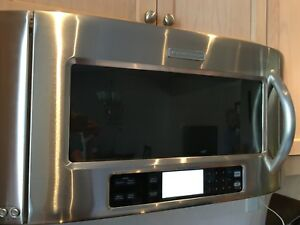 Used kitchen aid microwave door