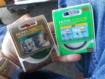HOYA 49mm UV / GREEN X1 Filter For Camera Lens VINTAGE NEW OLD STOCK U.S. (Vintage Lens Philippines)