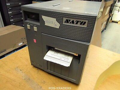 """SATO CL408E Parallel Thermo Label Drucker REWINDER 203dpi 4.1"""" 104mm - 17617.1 M"""