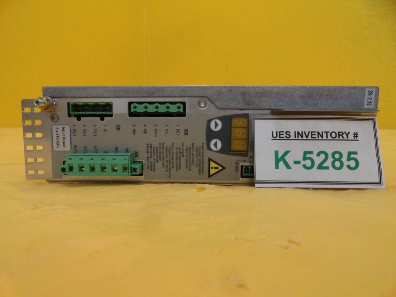 Telemecanique Lxm15ld21m3 Servo Drive 15 Lp Used Working