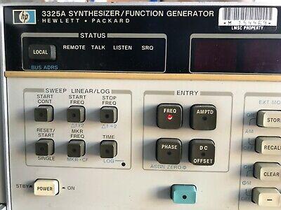 Hewlett Packard Synthesizerfunction Generator 3325a
