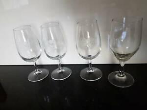 4 x port glasses - port, wine, champagne