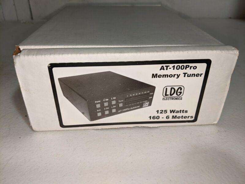 LDG AT-100 Pro Autotuner Automatic Antenna Tuner