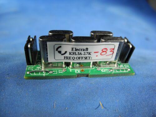 Elecraft KFL3A 2.7Khz Filter SSB HAM RADIO K3 K3S