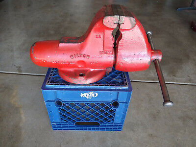 Vintage Wilton Bullet Bench Vise 5 Jaws 90 Lbs. C2 101058 Made In Usa