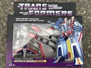 Transformers G1 Star Scream