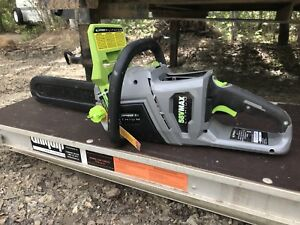 Earth wise 16v Cordless Chainsaw