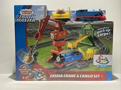 Thomas & Friends Track Master Cassia Crane & Cargo Set Kids Toy Fisher-Price NEW