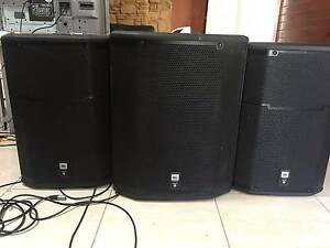 2 X JBL PRX 615 SPEAKERS AND  1X JBL 618S  XLF SUB Mittagong Bowral Area Preview