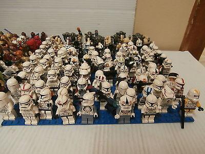 Random Lot 1-99 Lego Star Wars Mini Figures READ DESCRIPTION