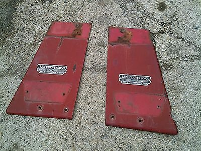 Farmall 656 Rowcrop Tractor Pair Of Ih Front Radiator Side Shield Panel Covers