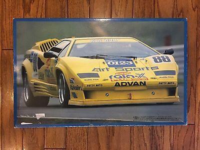 RARE! Fujimi 1/16 Art Rain-X Lamborghini Countach Large Scale VERY RARE!