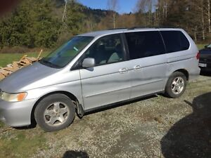 2001 Honda Odyssey for fix or parts