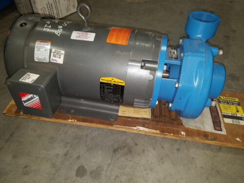 GOULDS 3656 with BALDOR 15 HP 4BF1M5C0 2 1/2 X 3-7 CENTRIFUGAL PUMP 230/460 3 PH