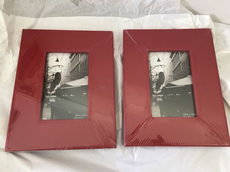 New Photo Frames From Myer Each 10x15 Photo Space Red Faux Leather