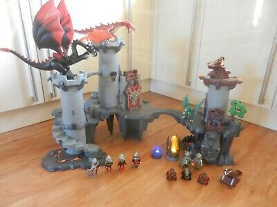 Playmobil Knights & Dragons Great Castle & Dungeon 4835 4836 4838 LED Fire Horse