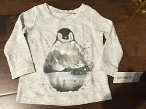 NEW with tags, Carter's Penguin Top, size 9 months - $5~
