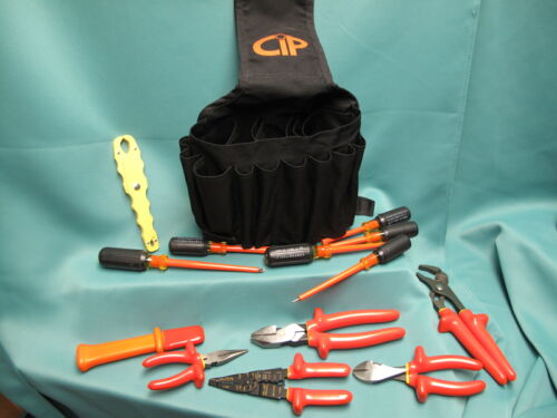Certified Insulated Products CIP Electrical Tool Set New! 1000 Volt