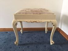 Antique white stool Surf Coast Preview