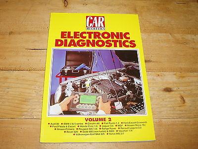 Car Mechanics Electronic Diagnostics Vol.2.  Book.